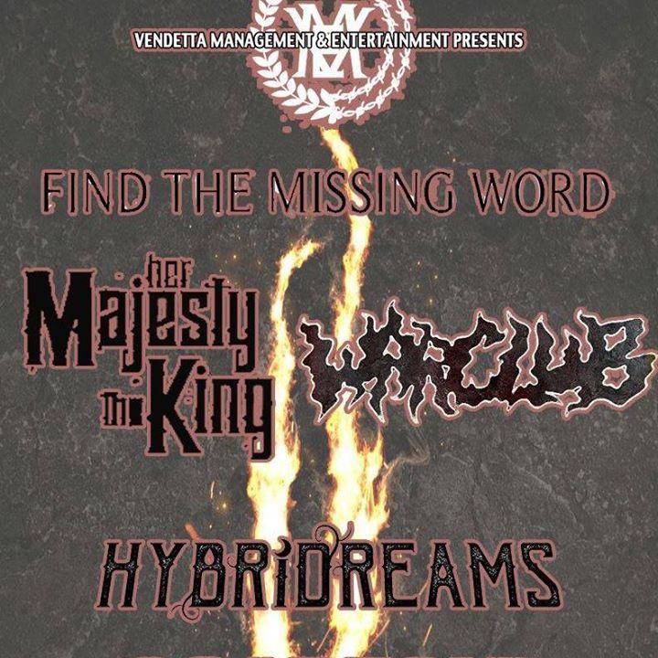 Find The Missing Word Tour Dates