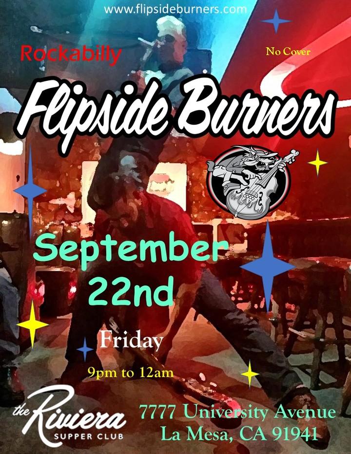 Flipside Burners @ Riviera Supper Club and Turquoise Room - La Mesa, CA