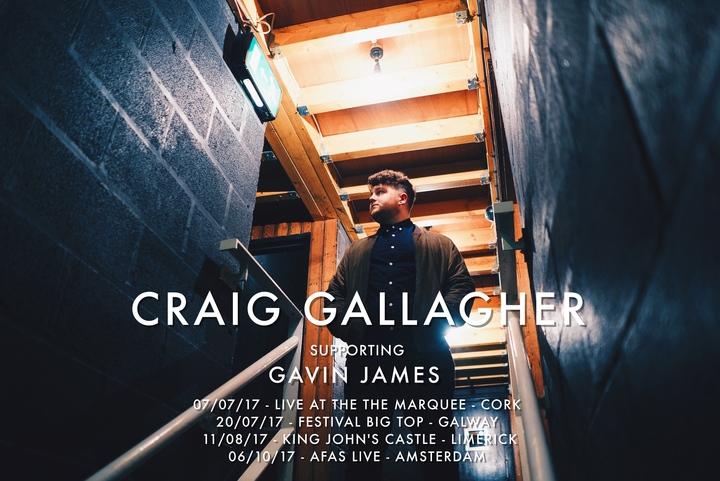 Craig Gallagher Music @ Effenaar - Eindhoven, Netherlands