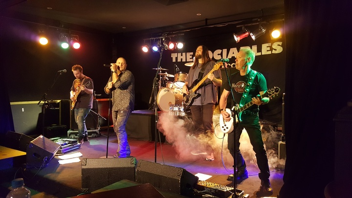 The Sociables, classic rock and blues. @ Watsonia R.S.L. - Watsonia, Australia