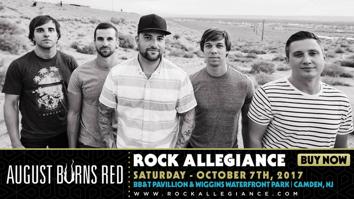 August Burns Red @ Rock Allegiance Fest - Camden, NJ