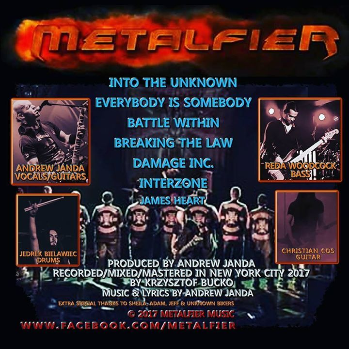 Metalfier Tour Dates