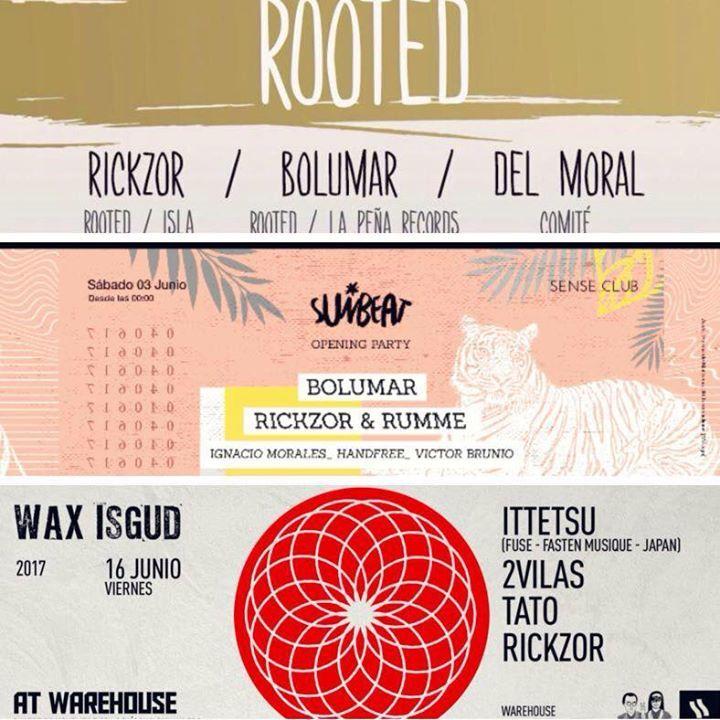 Rickzor Tour Dates