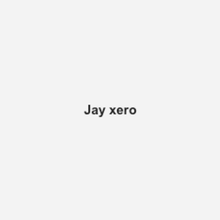 Jay xero @ FAUST - Paris, France