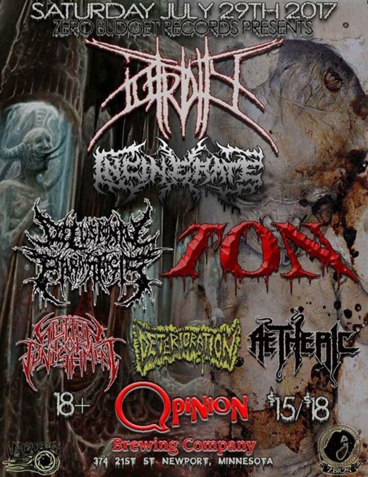 TON Tour Dates