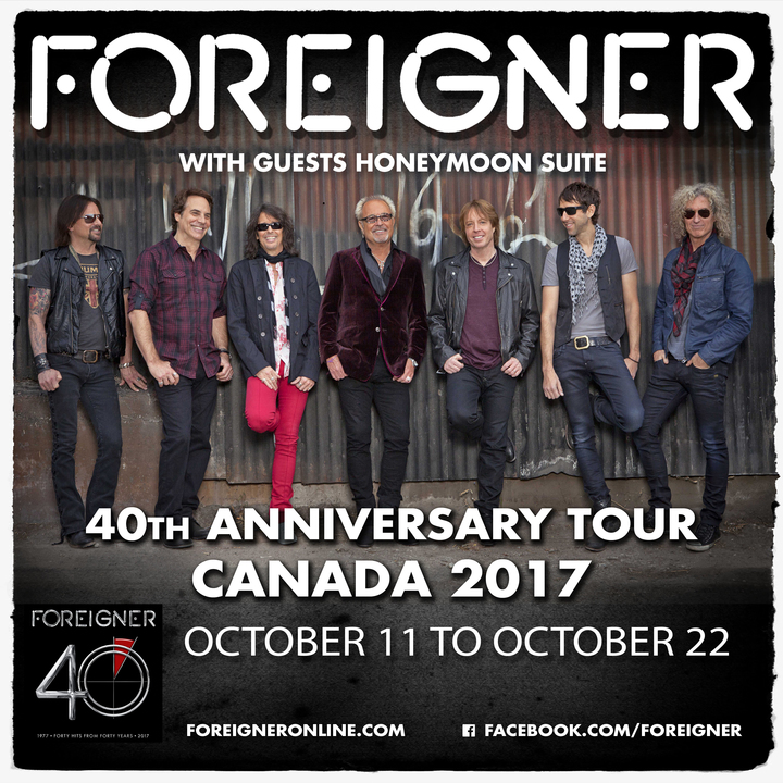 Foreigner @ The Conexus Arts Centre - Regina, Canada