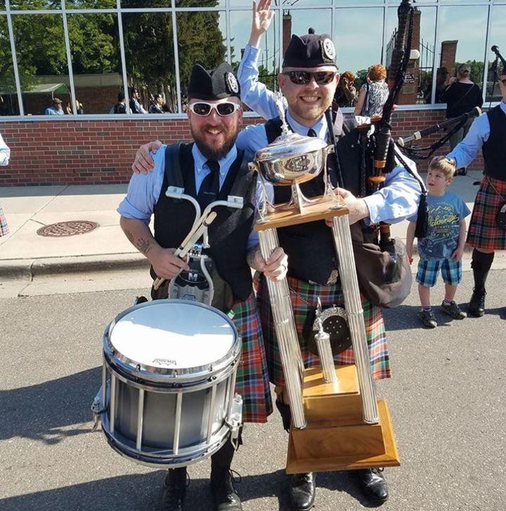 Midlothian Scottish Pipe Band Tour Dates