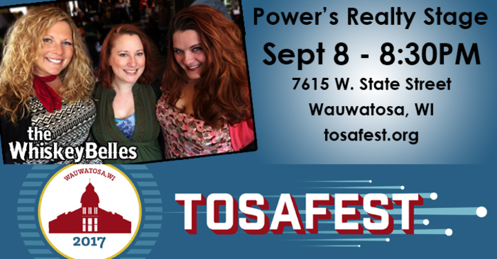 The Whiskeybelles @ Tosafest - Wauwatosa, WI