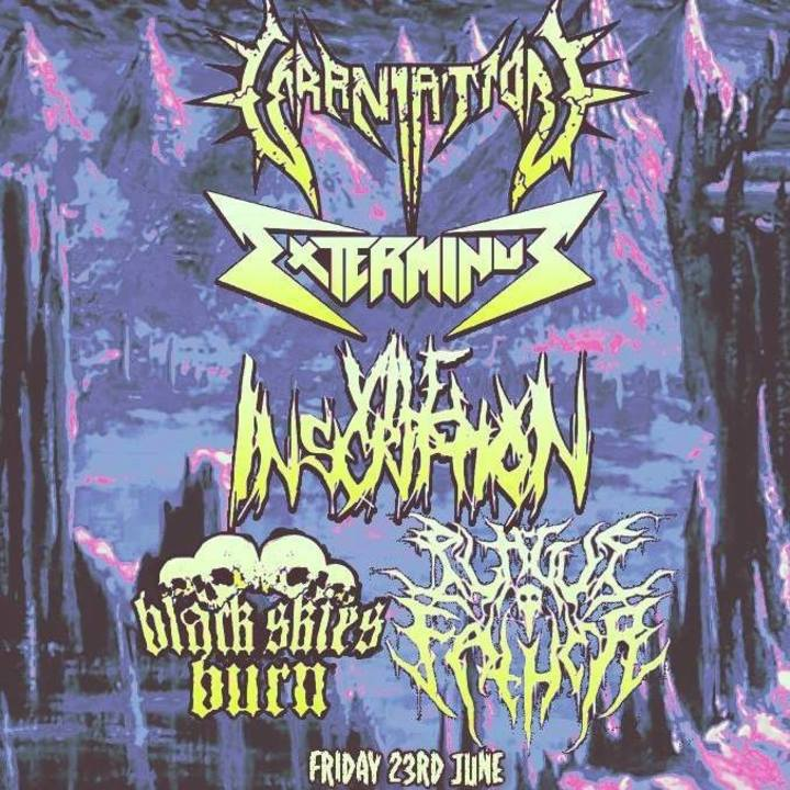 Exterminus Tour Dates