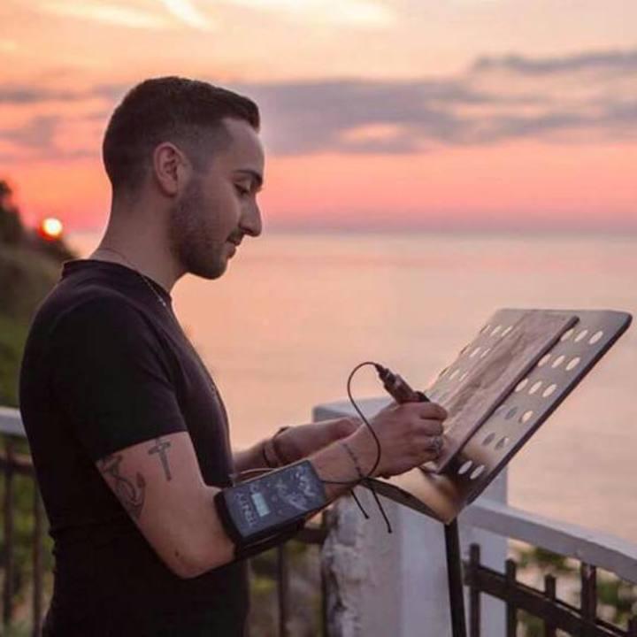 Gabriele Pellerone Tattoo @ Biennale d'Arte  - Venice, Italy