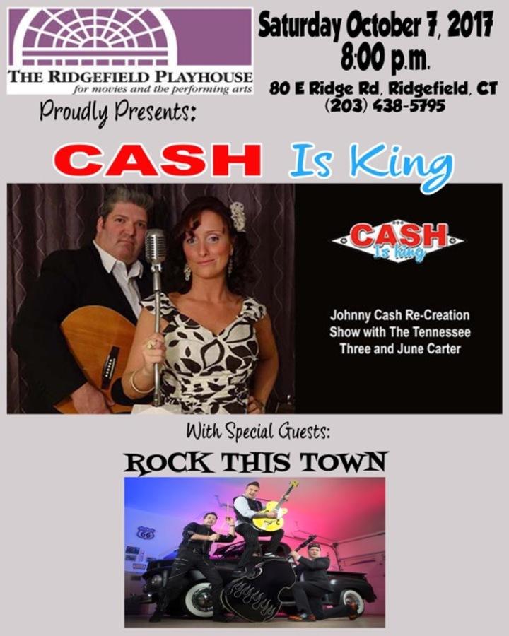 CASH is KING : Johnny Cash Tribute Show @ Ridgefield Playhouse - Ridgefield, CT