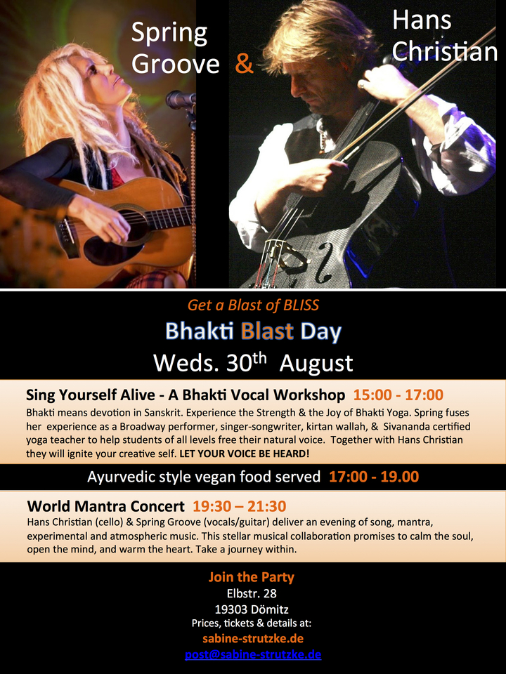 Spring Groove @ Bhakti Blast Day - Dömitz, Germany