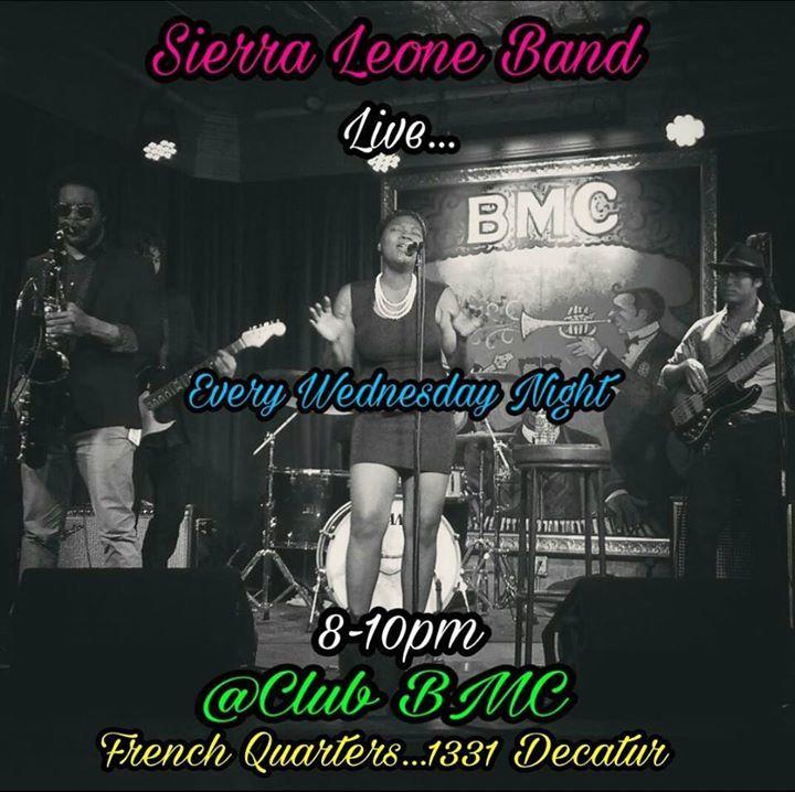 Sierra Leone Experience Tour Dates
