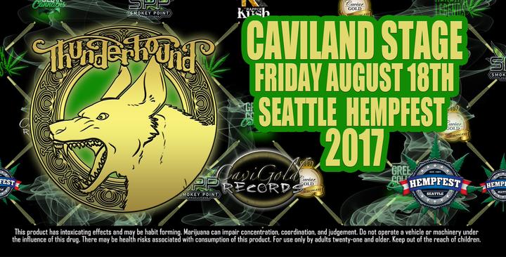 THUNDERHOUND @ CaviLand Stage  - Seattle, WA