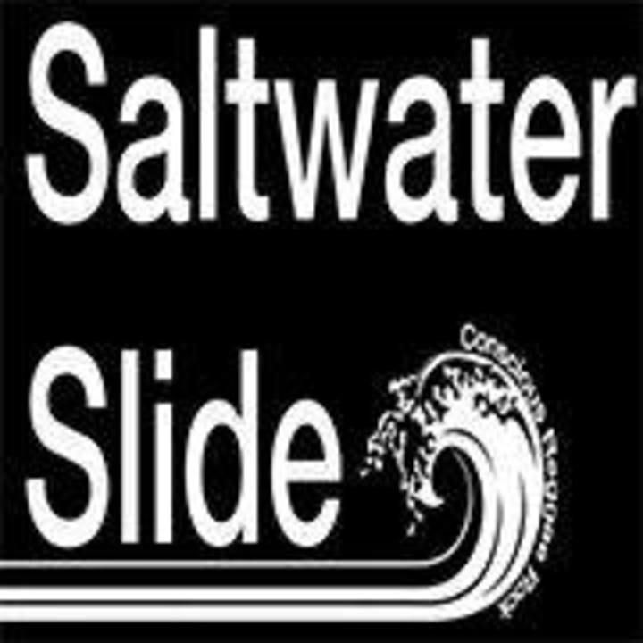 Saltwater slide @ Jack's Bar - San Antonio, TX