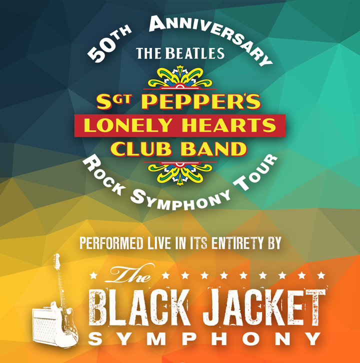 """The Black Jacket Symphony @ Ruth Eckerd Hall - Performing The Beatles' """"Sgt. Pepper's Lonely Hearts Club Band"""" - Clearwater, FL"""