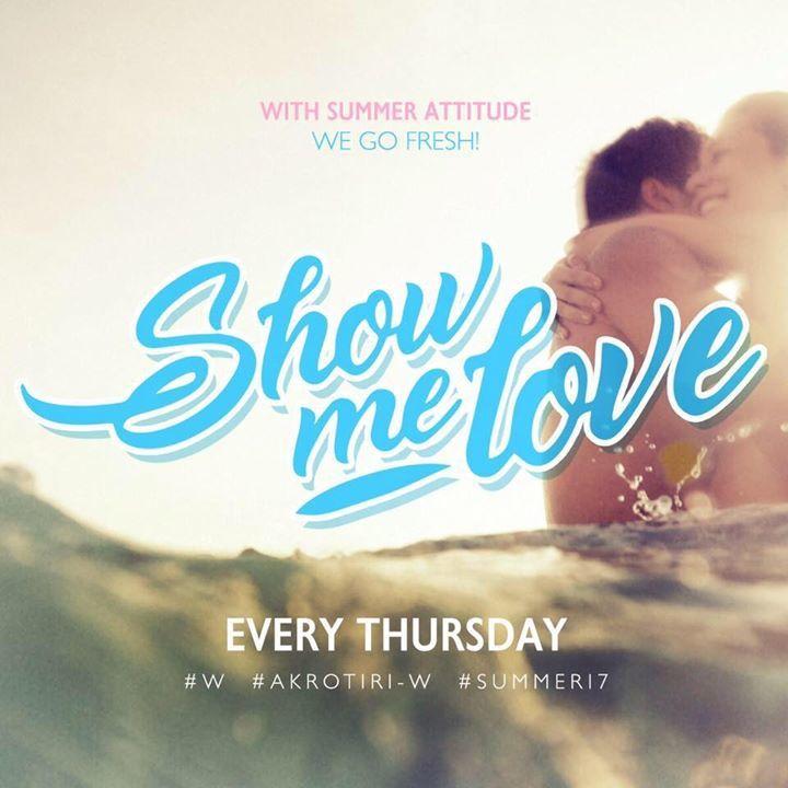-SHOW ME LOVE Tour Dates