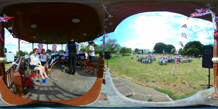 Spectrum Music @ Bandstand - Newton Abbot, United Kingdom