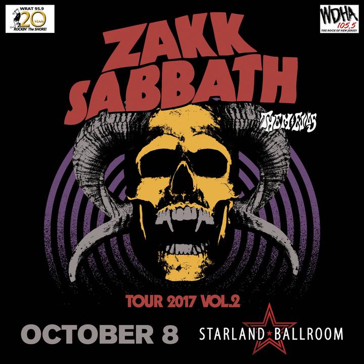 Zakk Sabbath @ Starland Ballroom - Sayreville, NJ