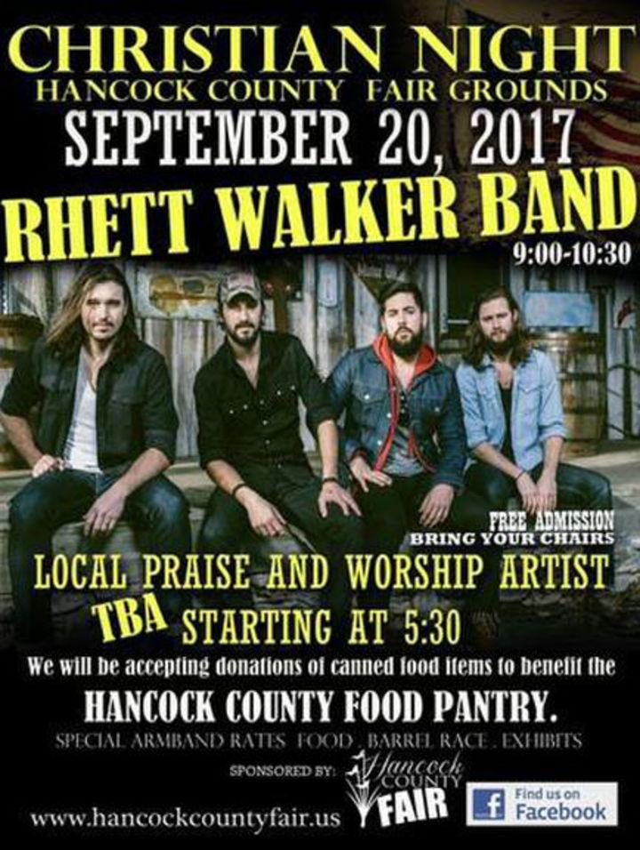 Rhett Walker Band @ Hancock County Fair - Kiln, MS