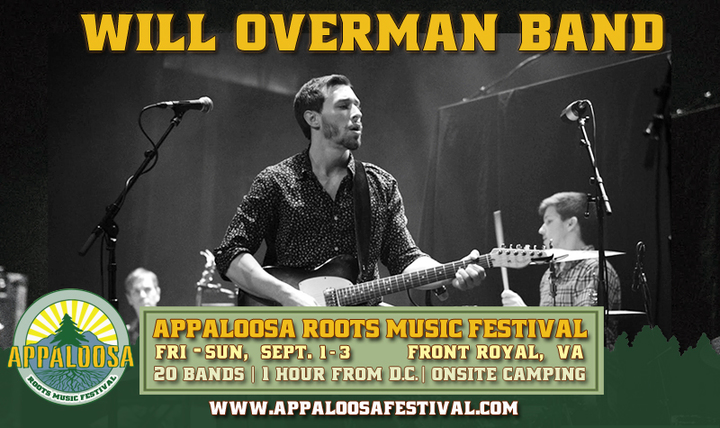 Will Overman Band @ Appaloosa Music Festival - Front Royal, VA