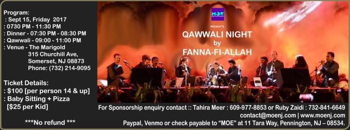 Fanna-Fi-Allah Sufi Qawwali @ The Marigold - Somerset, NJ