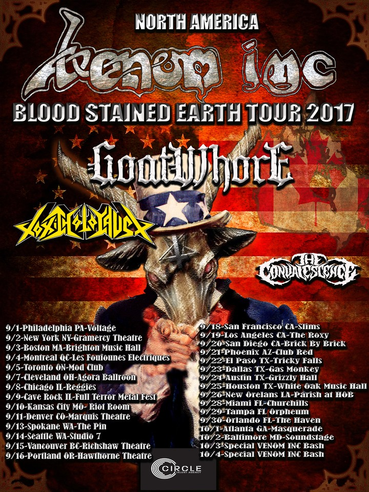 Goatwhore @ Grizzly Hall - Austin, TX