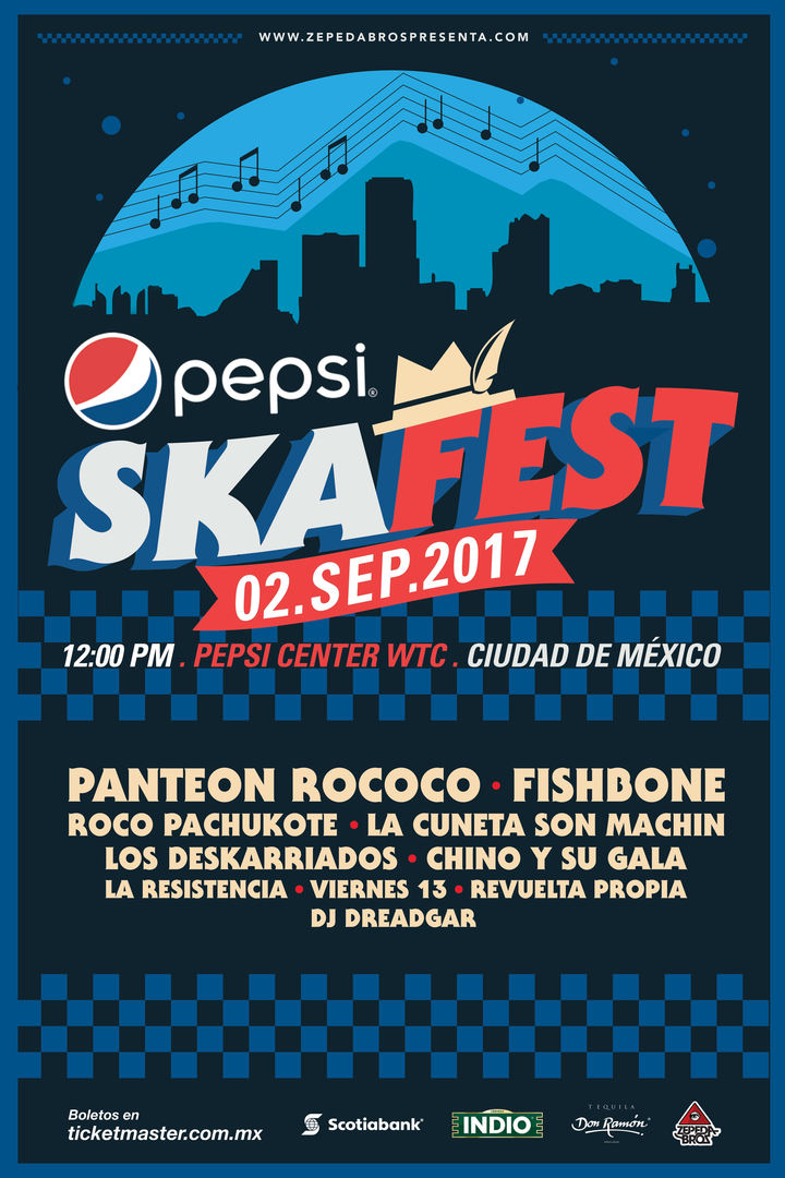 Fishbone @ Pepsi Center WTC - Mexico City, Mexico