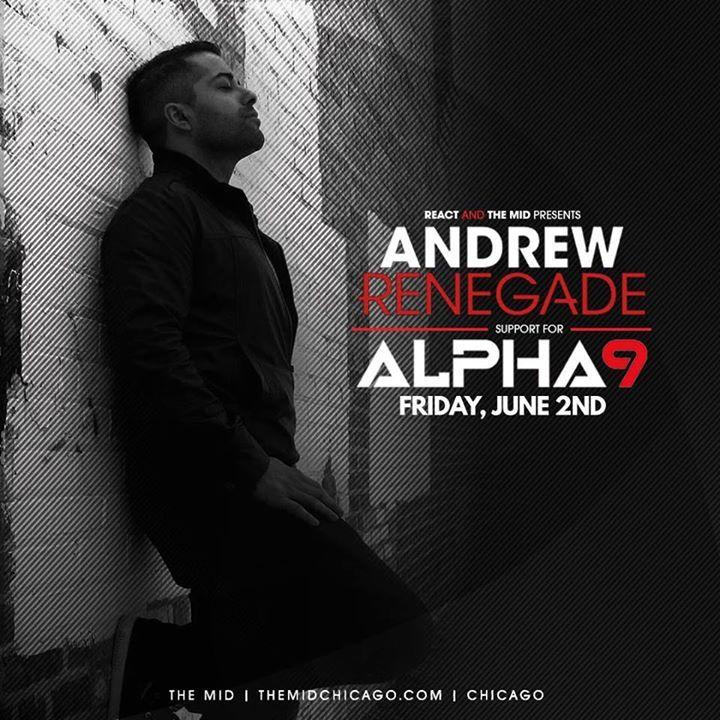 Andrew Renegade Tour Dates