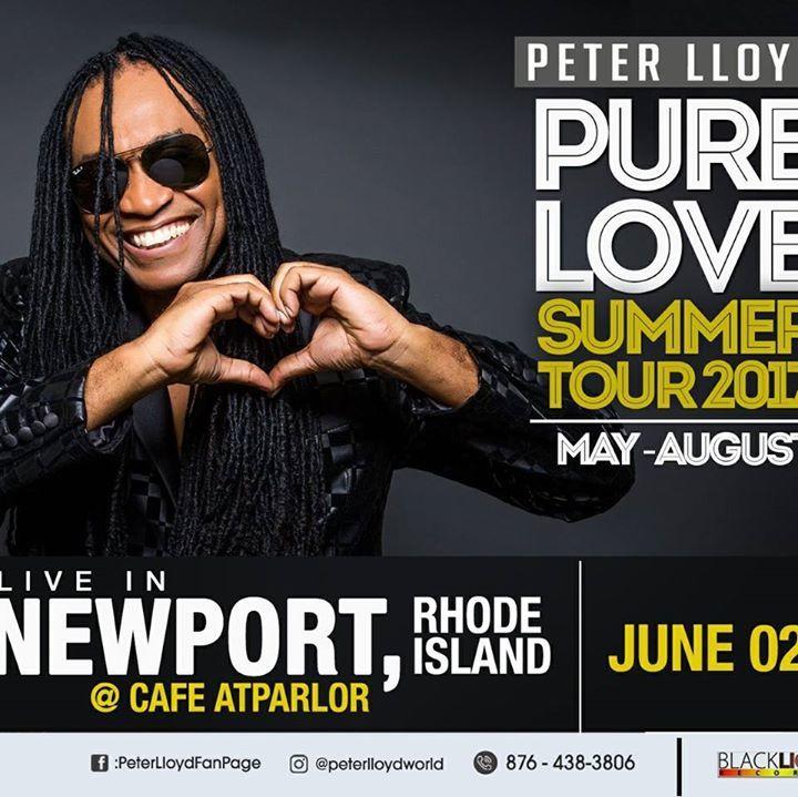Peter Lloyd Tour Dates