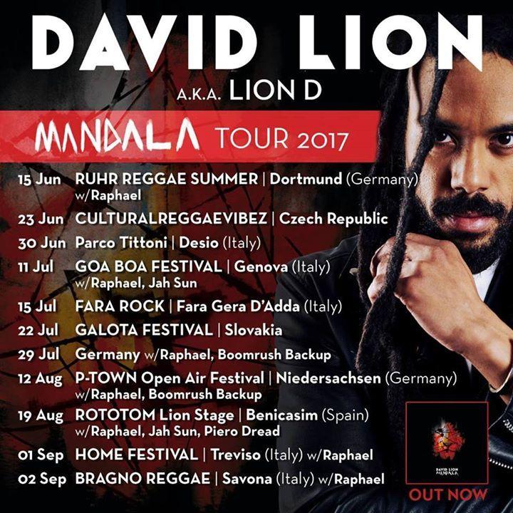 LION D Tour Dates