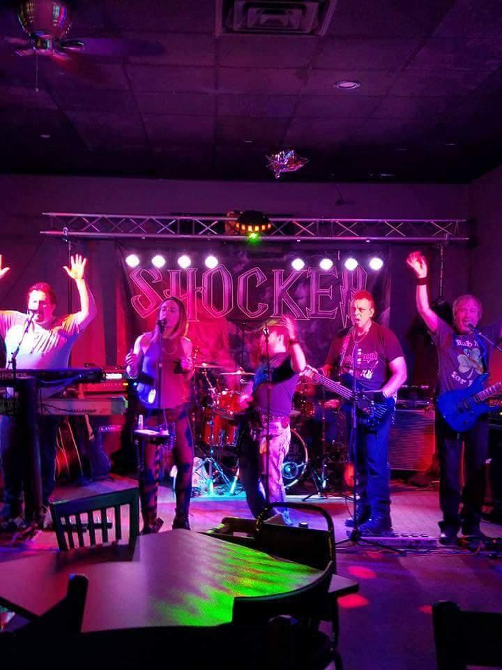 Shocker Band @ T & A Beach Bar At Harpt Lake - Maribel, WI
