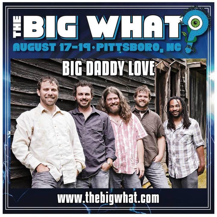 Big Daddy Love @ The Big What? Festival - Pittsboro, NC