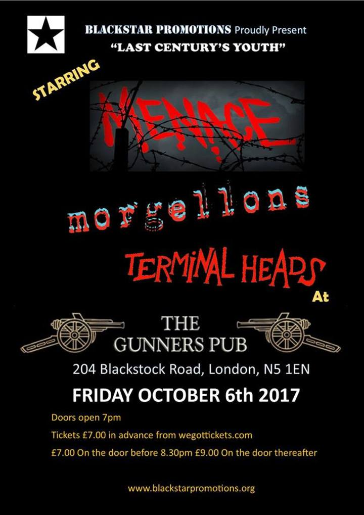 Morgellons @ The Gunners - London, United Kingdom