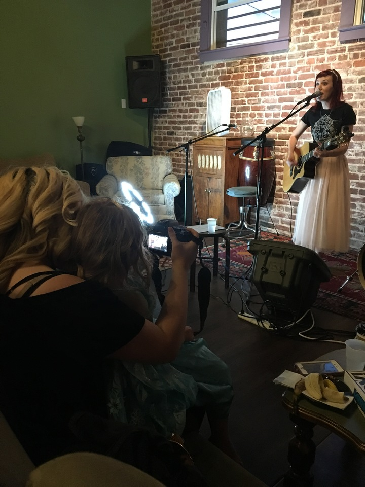 Heather Evans Music @ Fig Tree Coffee (Heather's Birthday & costume party!) - Roseville, CA