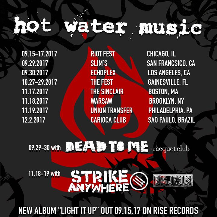 Hot Water Music @ Warsaw - Brooklyn, NY