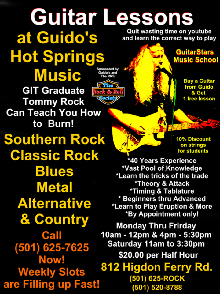 Guitar Stars Magazine Tour Dates