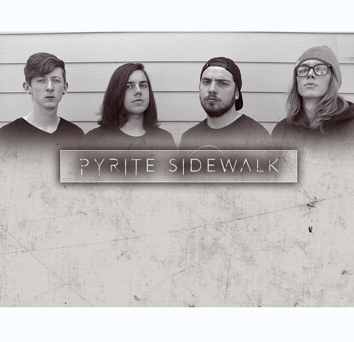 Pyrite sidewalk @ Red House - Walnut Creek, CA
