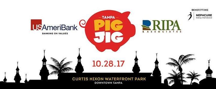 Stop Light Observations @ Tampa Pig Jig - Tampa, FL