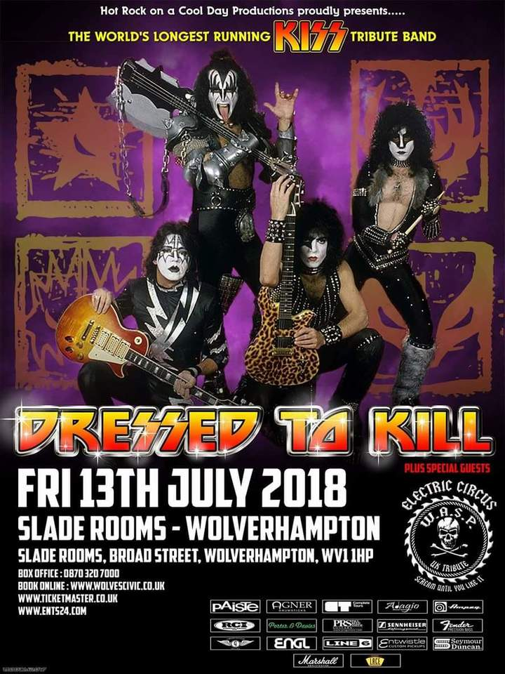 Electric Circus UK @ Slade Rooms  - Bilston, United Kingdom