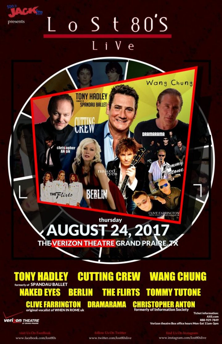 Cutting Crew Music @  Verizon Theatre At Grand Prairie - Grand Prairie, TX