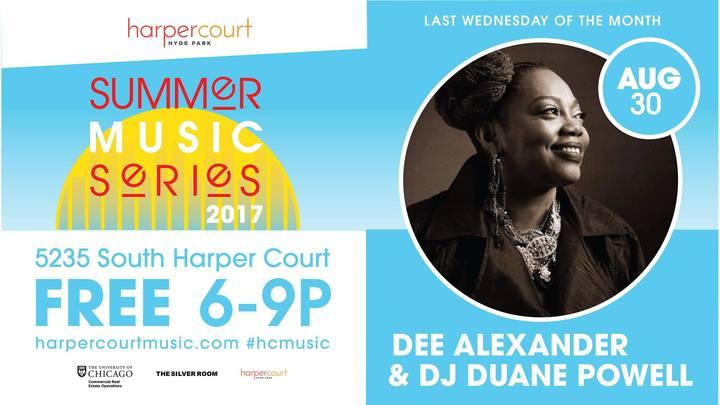 DJ Duane Powell @ Harper Court - Chicago, IL