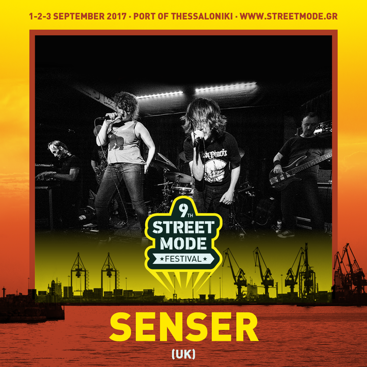 Senser @ 9th Street Mode Festival - Thessaloniki, Greece