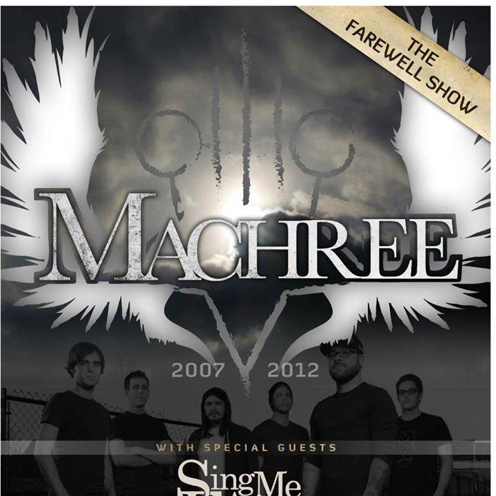 Machree Tour Dates