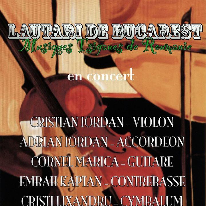 Lautari de Bucarest Tour Dates