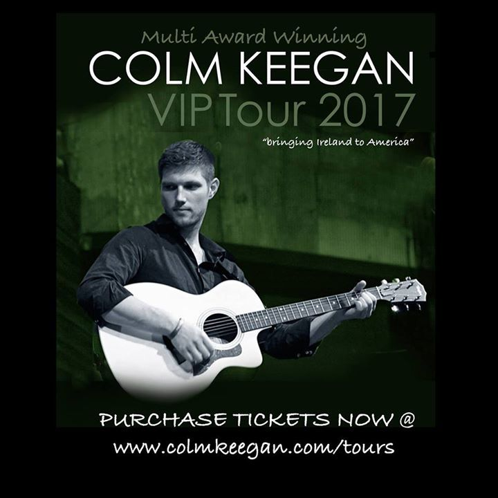 Colm Keegan Tour Dates
