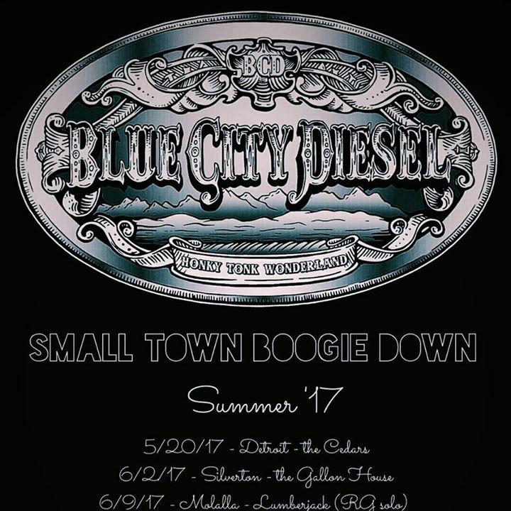 Blue City Diesel Tour Dates