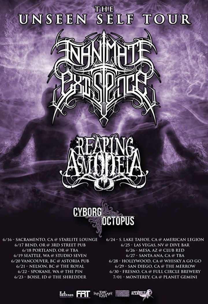 Cyborg Octopus Tour Dates