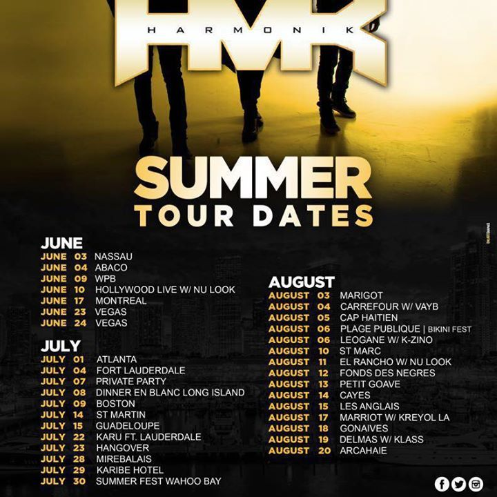 Harmonik Tour Dates