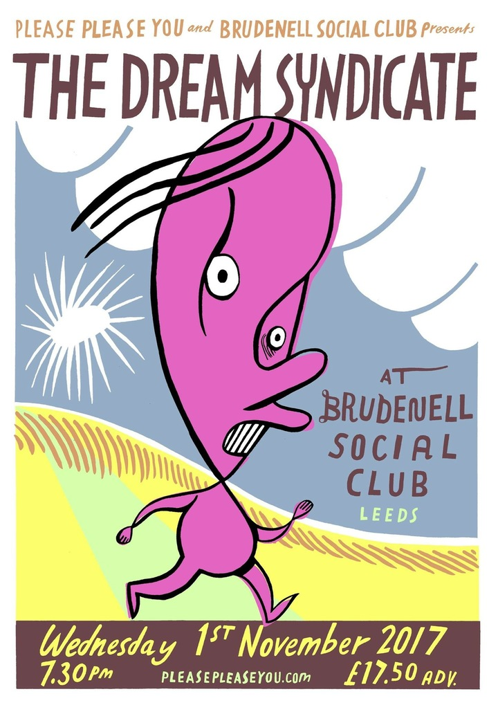 The Dream Syndicate @ Brudenell Social Club - Leeds, United Kingdom